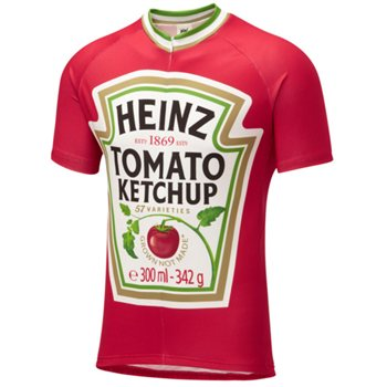 Foska Heinz Tomato Ketchup Road Jersey