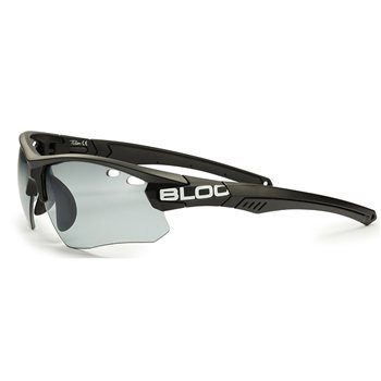 Bloc Titan Sunglasses - Black with Photochromatic Lens  - Click to view a larger image