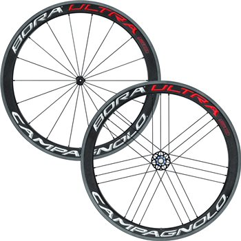 Campagnolo Bora Ultra 50 Clincher Wheelset  - Click to view a larger image