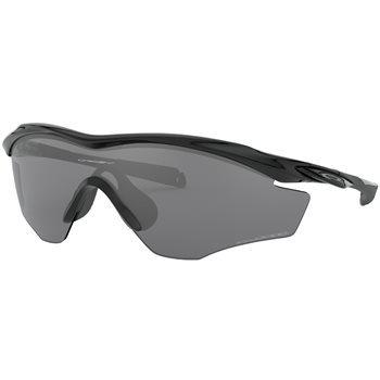Oakley M2 Frame XL Polished Black / Black Iridium Polarized  - Click to view a larger image