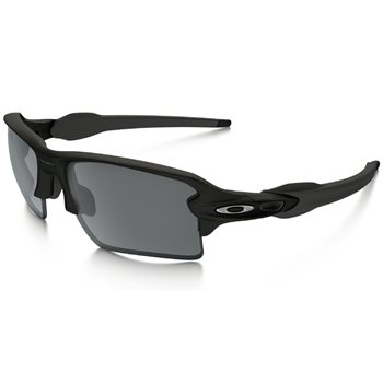 Oakley Flak 2.0 XL Matt Black / Black Iridium  - Click to view a larger image