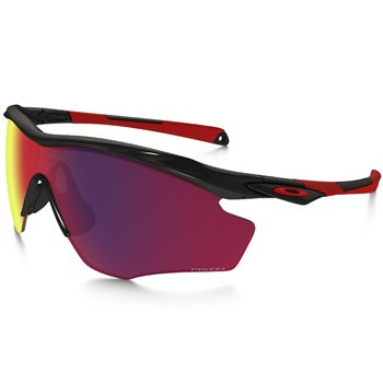 Oakley M2 Frame XL Polished Black / Prizm Road  - Click to view a larger image