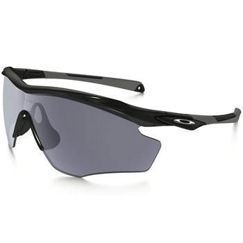 Oakley M2 Frame XL Polished Black / Grey Lens  - Click to view a larger image
