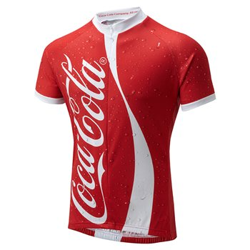 Foska Coca Cola Road Cycling Jersey  - Click to view a larger image