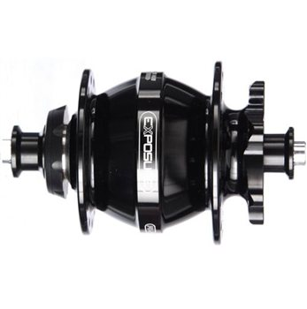 EXPOSURE Revo Dynamo Disc Front Hub  - Click to view a larger image