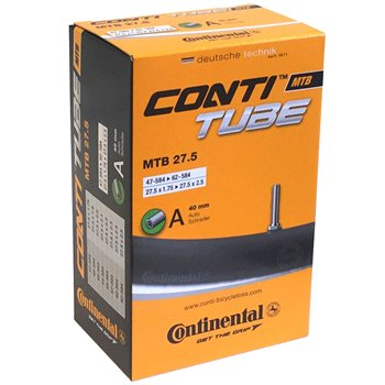 Continental MTB 27.5 Inner Tube - Schrader Valve  - Click to view a larger image