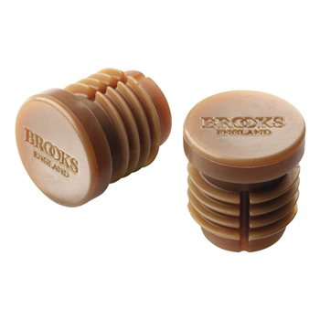 Brooks Rubber Bar End Plugs  - Click to view a larger image