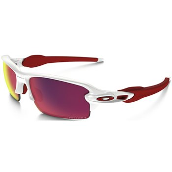 Oakley Flak 2.0 XL Polished White / Prizm Road  - Click to view a larger image