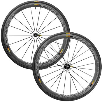Mavic Cosmic Pro Carbon SL Full Carbon Clincher Wheelset  - Click to view a larger image