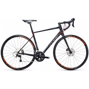 Cube Attain SL Disc Road Bike - 2017  - Click to view a larger image