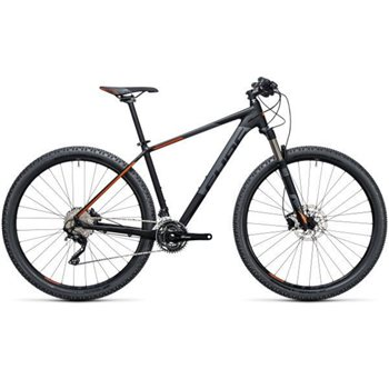 Cube Attention SL Hardtail Black & Orange - 2017  - Click to view a larger image
