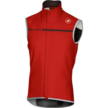 Castelli Perfetto Gilet - Red  - Click to view a larger image