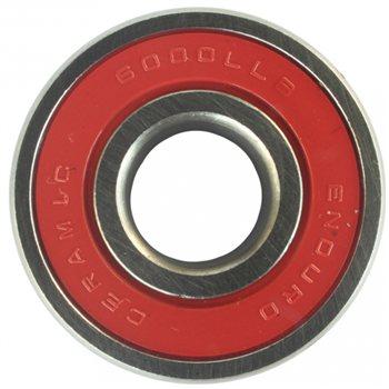 Enduro 6000 ABEC 5 Ceramic Hybrid Bearing  - Click to view a larger image