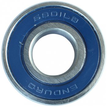 Enduro 6001 ABEC 3 Sealed Steel Bearing  - Click to view a larger image