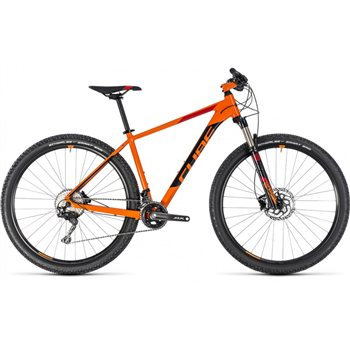 Cube Acid Hardtail Orange & Black  - 2018  - Click to view a larger image