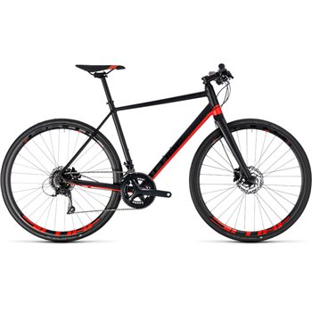 Cube SL Road Pro Black & Red - 2018  - Click to view a larger image