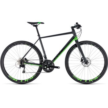 Cube SL Road Race Iridium & Green - 2018  - Click to view a larger image