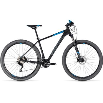 Cube Attention Hardtail Black & Blue - 2018  - Click to view a larger image