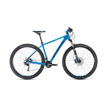 Cube Attention SL Hardtail Aqua & Blue - 2018  - Click to view a larger image