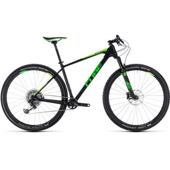 Cube Reaction C:62 Eagle Hardtail Carbon & Green  - 2018  - Click to view a larger image