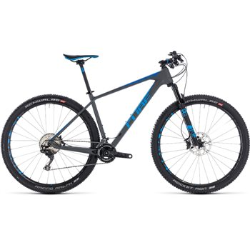 Cube Reaction C:62 SL Hardtail Grey & Blue - 2018  - Click to view a larger image