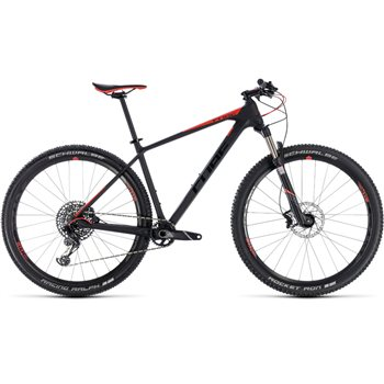 Cube Reaction C:62 Pro Hardtail Carbon & Red - 2018  - Click to view a larger image