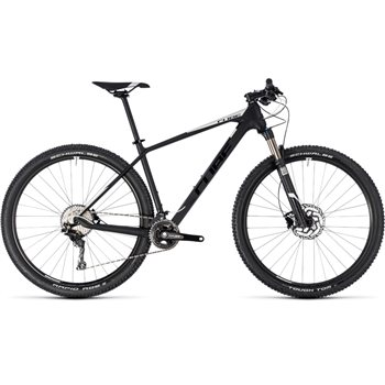 Cube Reaction C:62 Hardtail Carbon & White - 2018  - Click to view a larger image