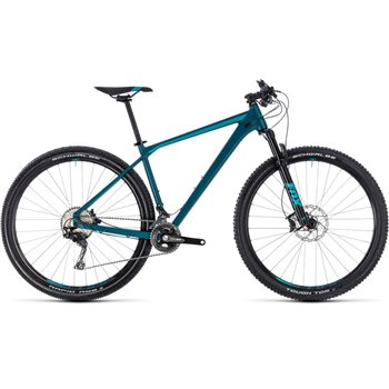 Cube Reaction SL Hardtail Dark Blue & Mint - 2018  - Click to view a larger image