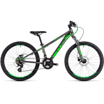 Cube Kid 240 Disc Grey & Flashgreen - 2018  - Click to view a larger image