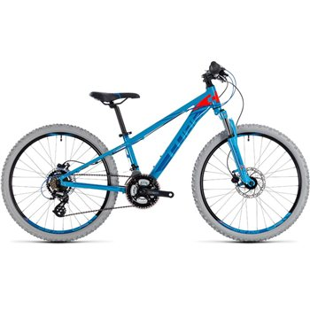 Cube Kid 240 Disc Blue & Flashred - 2018  - Click to view a larger image