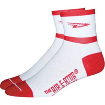 Defeet Aireator D Team Sock - Red Logo  - Click to view a larger image