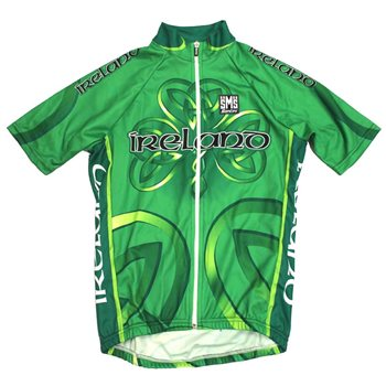 Santini Ireland National Team Jersey - 2010 Full Zip  - Click to view a larger image