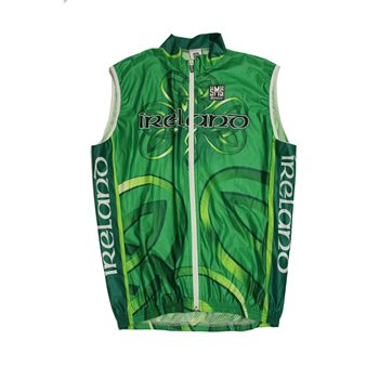 Santini Ireland National Team 2010 Wind Gilet  - Click to view a larger image