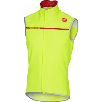 Castelli Perfetto Vest - Fluo Yellow Gilet  - Click to view a larger image