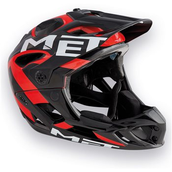 Met Parachute Full Face MTB Helmet - 2018  - Click to view a larger image