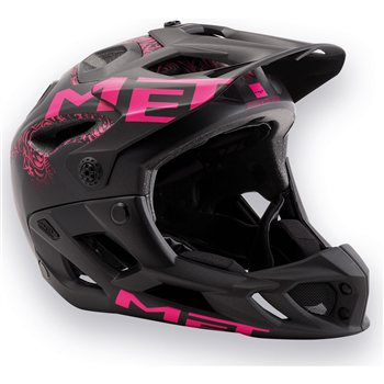 Met Parachute Ladies Full Face MTB Helmet - 2018  - Click to view a larger image
