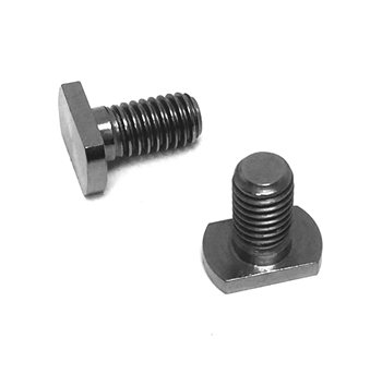 Lightening Bolts Titanium Shift / Brake Lever Attachment Screw  - Click to view a larger image