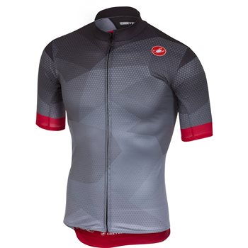 Castelli Flusso Cycling Jersey - Anthracite  - Click to view a larger image