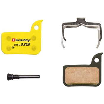SwissStop Disc 32 RS Brake Pads For SRAM HRD, Level Ultimate, Level TLM Brakes  - Click to view a larger image