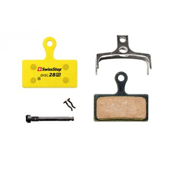 SwissStop Disc 28 RS Brake Pads For Shimano XTR, XT and SLX  - Click to view a larger image