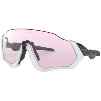 Oakley Flight Jacket Matt Grey / Carbon Prizm Low Light  - Click to view a larger image