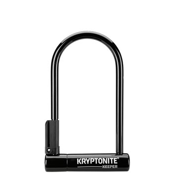 Kryptonite Keeper 12 Standard - Sold Secure Silver  - Click to view a larger image