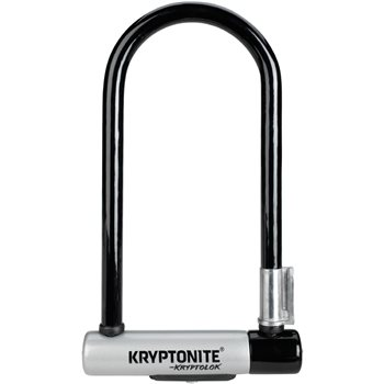Kryptonite KryptoLok Standard Shackle Lock - Sold Secure Gold  - Click to view a larger image