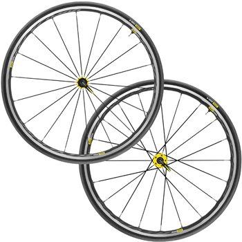 Mavic Ksyrium Elite UST Wheelset - 2018 - Yellow  - Click to view a larger image