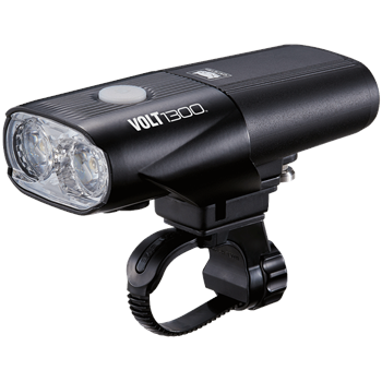Cateye Volt 1300 Front USB Rechargeable Light  - 1300 Lumen  - Click to view a larger image