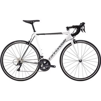 Cannondale CAAD Optimo Sora Road Bike - White - 2019  - Click to view a larger image