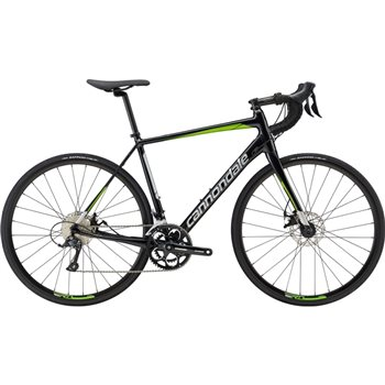 Cannondale Synapse Disc Sora Road Bike - Black & Green - 2019  - Click to view a larger image