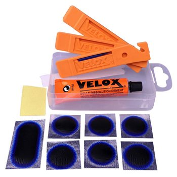 Velox Puncture Repair Kit + 3 Tyre Levers  - Click to view a larger image