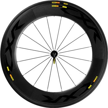 Mavic Cosmic CXR Ultimate 80 Tubular Front Wheel  - Click to view a larger image