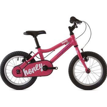 Ridgeback Honey 14 inch wheel bike - Pink   - Click to view a larger image